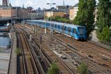 Gamla Stan-Slussen train 7