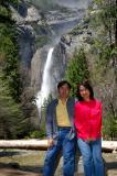 At Lower Yosemite Fall