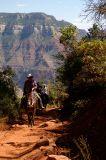 Mule Riders at North Kaibab Trail