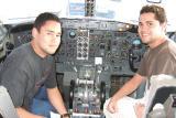 Captain Chris & F/O Brother Kimo