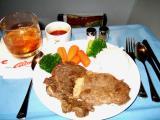 Rib-Eye Steak...just right...thanks Brian