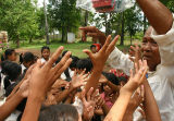 Donating Pencils to a School and causing a mini riot. Somewhere in rural Cambodia