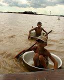 Boat Kids, Tonle Sap, Cambodia