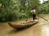 Going to market on the Mekong Delta, Vietnam