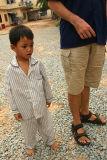 Orphan Child, Nr Siem Reap, Cambodia