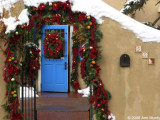 Archway with garlands