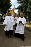 Priests leaving El Rosario