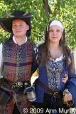 Young Renaissance Couple