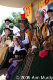 Queen Isabella and her court