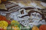 Detail of Pan de Muerto - Los Hornos Ortiz