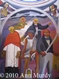 Mural with Hidalgo & Morelos