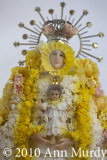 Virgin of Rosario in wax