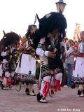 Buffalo Dancers entering