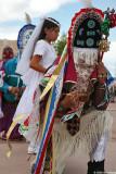 Jemez Malinche dancing around danzantes