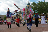 Jemez group dancing