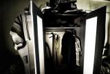 Wardrobe being