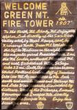 Sign At Tower Base