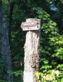 Green Mountain Trailhead Sign