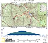 Caverly Mountain Hike - 09/11/09