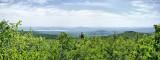 Panorama  View Near The Peak