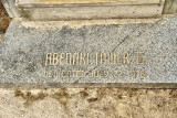 Granite Step at Base of Stairs