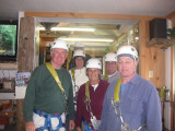 Alpine Zipline, Cascade Park & Artist's Bluff Trip - Lincoln, Woodstock & Franconia, NH - 09/23/10