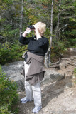 Eleanor Looking For Bears on Cannon Mountain