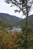 View of Franconia Notch From Artist's Bluff
