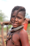 Himba girl from Namibia