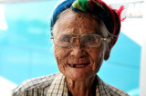 Vietnam lady with one tooth