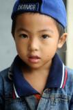 Boy with Denver cap
