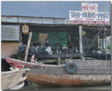 Boat repair - Mekong River