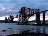 The Forth Bridge cantilever railway bridge