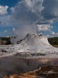 Upper geyser basin, Castle geyser