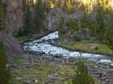 Firehole Falls, Yellowstone
