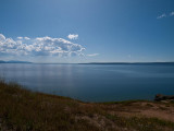 Yellowstone lake from the East Entrance Road
