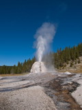 Lone Star Geyser, Yellowstone