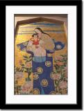 The Japanese Mosaic of Madona and Child