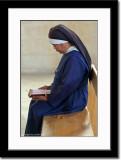 Nun at Church in Tabgha