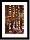 Colorful Maasai Talking Sticks