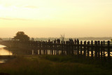 U Bein Bridge at sunrise.jpg