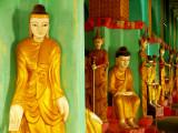 Many statues temple U Bein.jpg