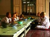 Novices at lunch Maha Ganayon.jpg