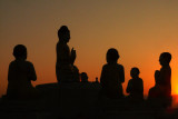 Silhouetted statues Hsipaw.jpg
