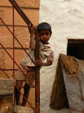 small boy in badami