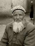 Bearded man near Kashgar