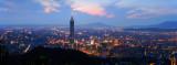 Taipei Night from Mt. Nan-Gang