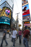 New York in Motion: Times Square I