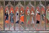 Choir stalls in St Helen's Church
