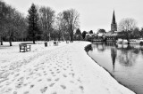 Abingdon in Winter